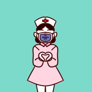 2020抗击疫情简笔绘画作品_二年级抗击疫情儿童画
